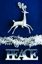 Peace Christmas design Royalty Free Stock Image