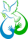 Peace dove Royalty Free Stock Images