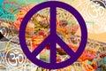 Peace Hippie Design Photo