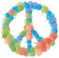 Peace and Love Symbol - Multicolored Splashes Royalty Free Stock Photos