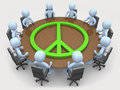 Peace Meeting Stock Photography