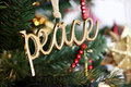 Peace Ornament Royalty Free Stock Photo
