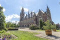 The Peace Palace garden Royalty Free Stock Photo