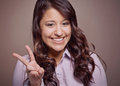 Peace sign Royalty Free Stock Image