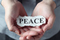 Peace Royalty Free Stock Photo