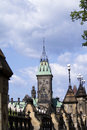 The Peace Tower On Parliament Hill, Ottawa Royalty Free Stock Photo