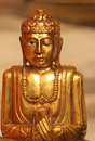 Peaceful Buddha Statue Stock Photo