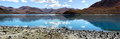 Peaceful lake in tibet a beautiful yamdrok Royalty Free Stock Image