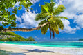 Peaceful Seychelles islands Stock Photography