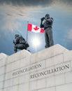 Peacekeeping Monument Ottawa, ontario,Canada Royalty Free Stock Photo