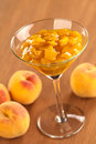 Peach Compote Stock Images