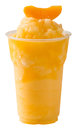 Peach smoothie Royalty Free Stock Photo