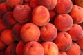 Peaches fruit peach close up photography Stock Images
