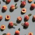 Peachy Background. Seamless Pa...