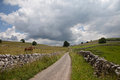 The Peak District farmland Stock Photos