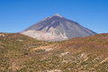 Peak of El Teide Royalty Free Stock Image