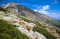 Peak Koncista in High Tatras, Slovakia