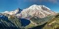 The Peak Of Mount Rainier