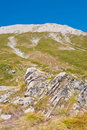 Peak Vihren on Pirin Mountain Stock Images