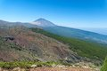 Peak of volcano teide tenerife spain Royalty Free Stock Photography