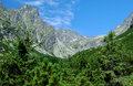 Peaks in High Tatras, Slovakia