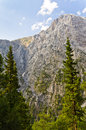Peaks of Samaria gorge Royalty Free Stock Photo