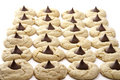 Peanut Butter Blossom Cookies Royalty Free Stock Photos