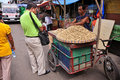 Peanut Vendor, Cebu City, Philippines Stock Photos