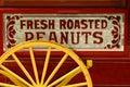 Peanut vendor's cart