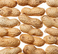 Peanuts Background Stock Photography