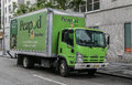 A Peapod truck Royalty Free Stock Photo