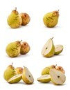 Pear collage Royalty Free Stock Photography