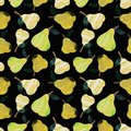 stock image of  Pear collage pattern