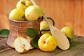 Pear in Copper Jug Royalty Free Stock Photo