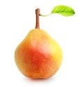 Pear isolated over white background Royalty Free Stock Image