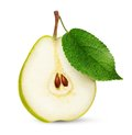 Pear isolated over white background Stock Photo