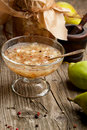 Pear jam Royalty Free Stock Image