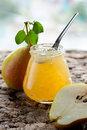 Pear jam Royalty Free Stock Images