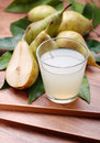 Pear juice Royalty Free Stock Photo