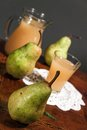 Pear juice Royalty Free Stock Photography