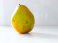 Pear nibble the green vegetable Stock Image