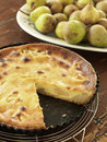 Pear tart Stock Photo