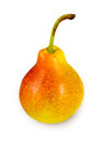 Pear on white back Royalty Free Stock Photos