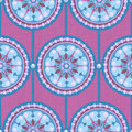 Pearl Circle Ornament Seamless Pattern