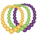 Pearl necklace for mardi gras Royalty Free Stock Photo