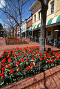 Pearl Street - Boulder, Colorado Stock Photos