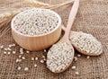 Pearls barley grain seed Royalty Free Stock Photo