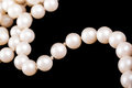 Pearls tread Royalty Free Stock Images
