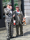 Pearly Kings Stock Image