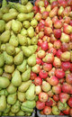 Pears bulk Royalty Free Stock Photo